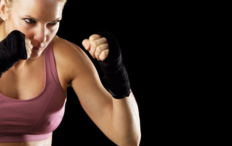 KICKBOXING FOR WOMEN